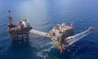 Alwyn, Total UK asset situated in the North Sea, Image courtesy of Total E&P UK Limited