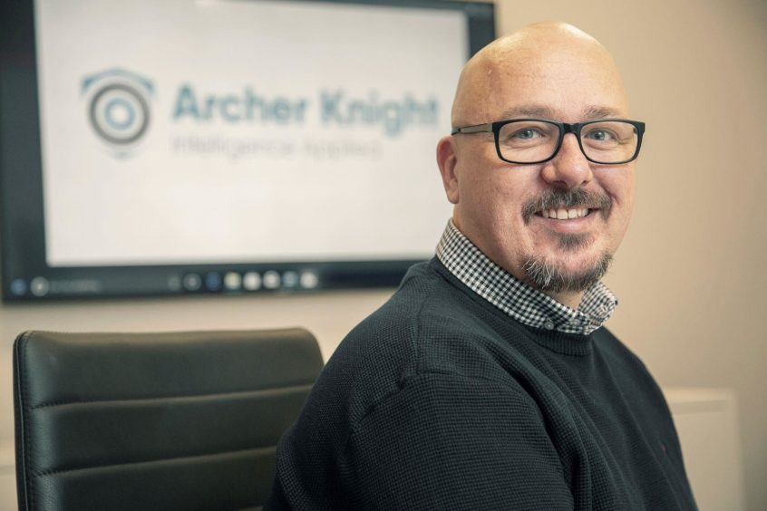 Archer Knight executive director David Sheret.