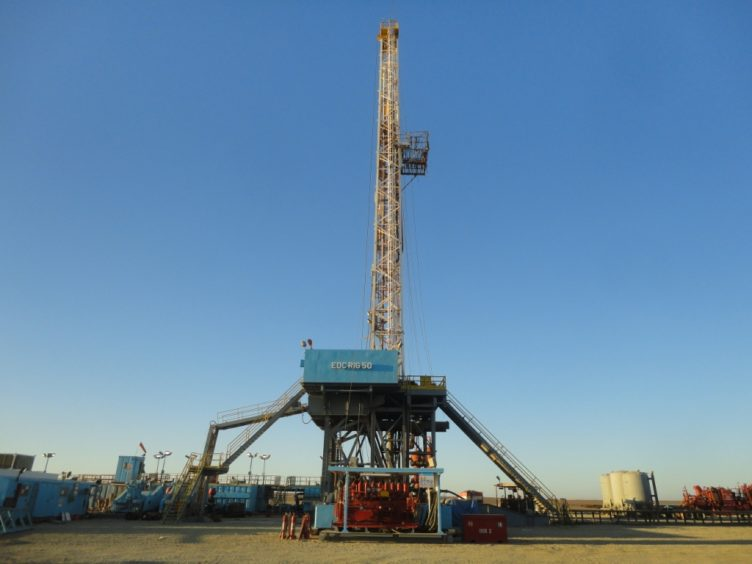 The ASH-3 well in Egypt's Abu Sennan licence should flow at more than 4,000 boepd during production, United has said.