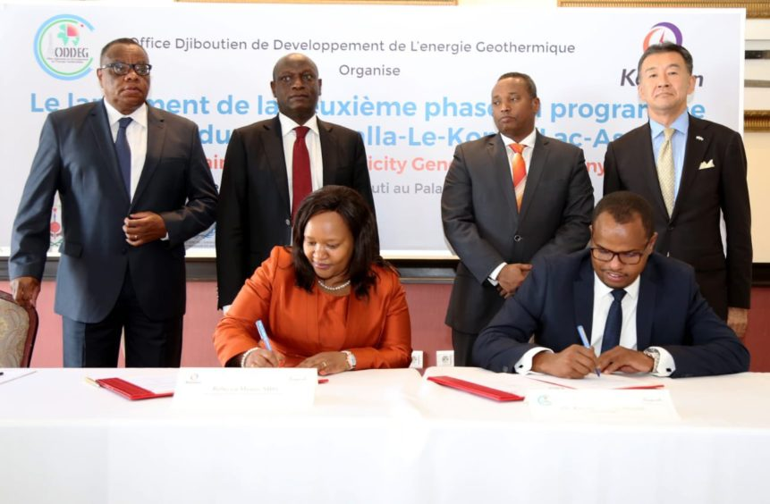 KenGen has signed up to drill three geothermal wells in Djibouti, as part of the country's pivot to renewable energy.