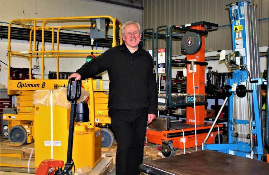 Safelift Offshore group sales manager Hugh Ramsay.
