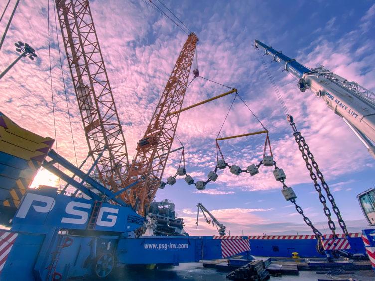 PSG Marine and Logistics operations