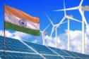 India is expanding renewable energy.