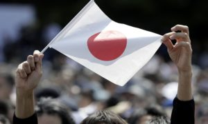 Flying the flag in Japan: the country is poised to use state funds to invest in overseas hydrogen projects. Photographer: Kiyoshi Ota/Bloomberg