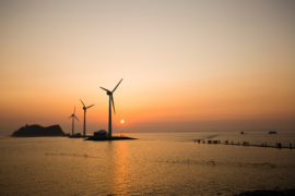 South Korea's first floating wind project advances