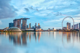 Total wins Singapore's third LNG bunker licence