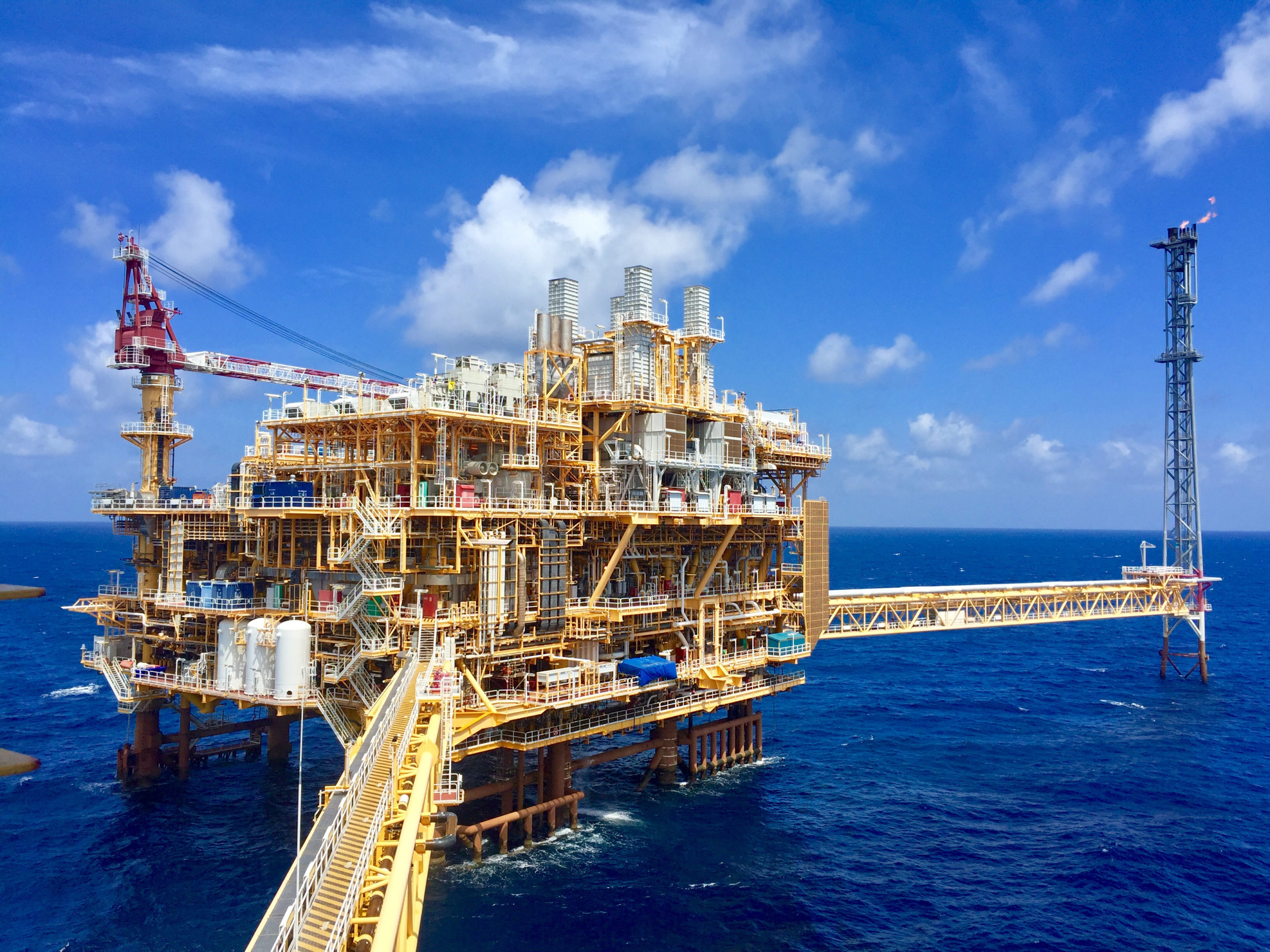 Offshore production in Thailand