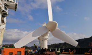 tidal turbine Japan