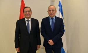 Egypt and Israel have held talks on a potential pipeline from the Leviathan field to an LNG facility, and on gas supplies to Palestine.