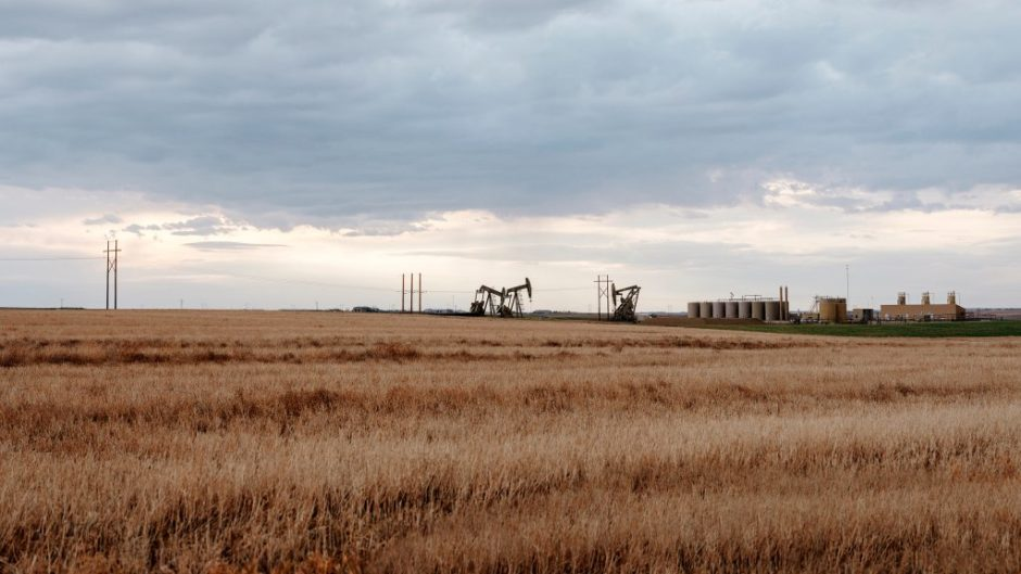 Oil field in the Bakken area, North Dakota. (Photo: Einar Aslaksen / Equinor ASA)
