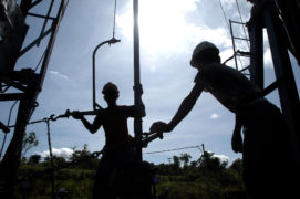Chevron reports Indonesian oil spill