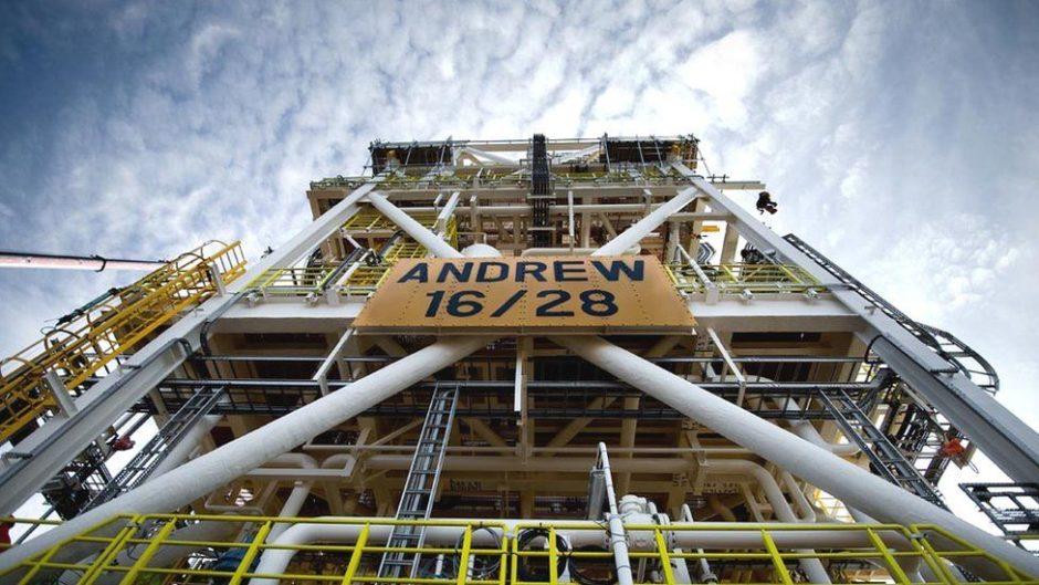 BP North Sea bids