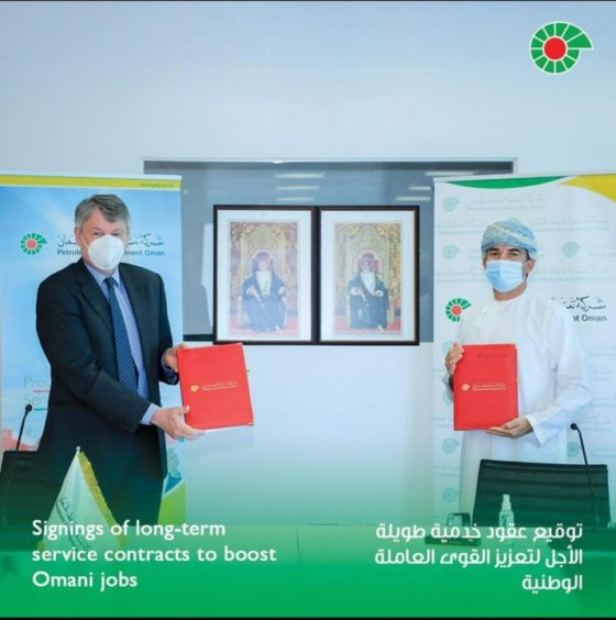 PDO has signed contracts worth $4bn with AIP and STS, with major commitments on local content for work in Block 6.