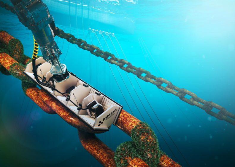 Ashtead Technology's Welaptega Chain Measurement System.