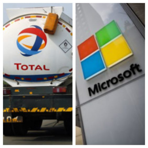 Total and Microsoft will pool resources to drive progress to net zero.