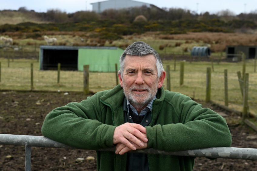 Doonie's Rare Breeds Farm, Graham Lennox been left in the dark about his farm's future due to the Aberdeen Energy Transition Zone plans.