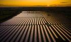 The 25 MWp Qabas Solar Plant, Oman.