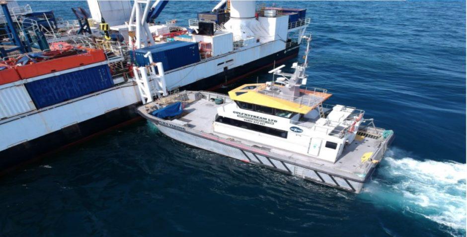 A GulfXstream vessel