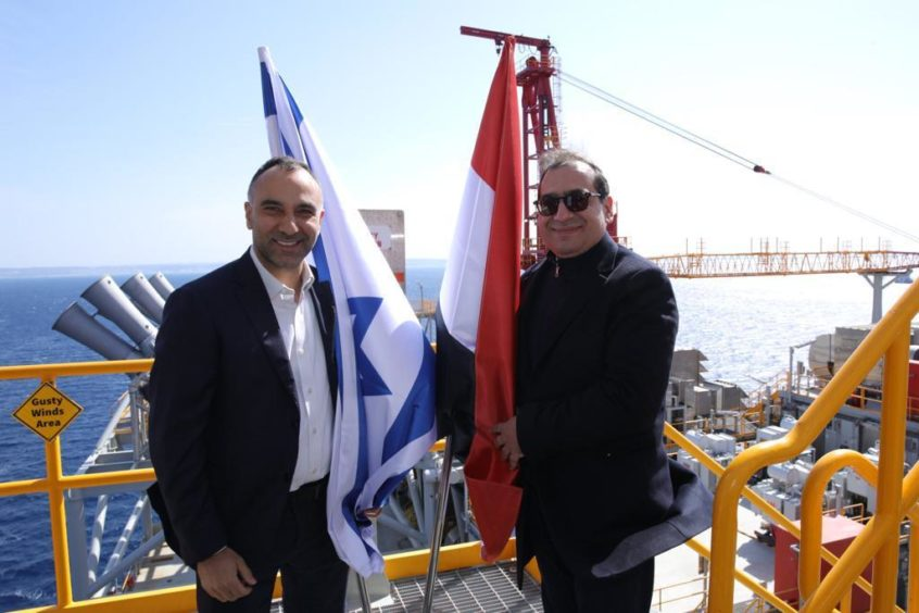 Egypt and Israel have discussed tighter emission controls on ships calling at ports in the Mediterranean Sea.