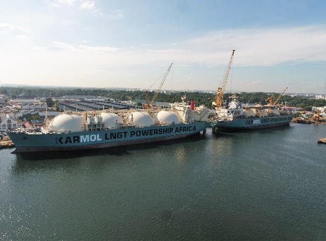 An FSRU has begun sea trials in Singapore, ahead of deployment to Senegal with Karpowership for an LNG-to-power project.