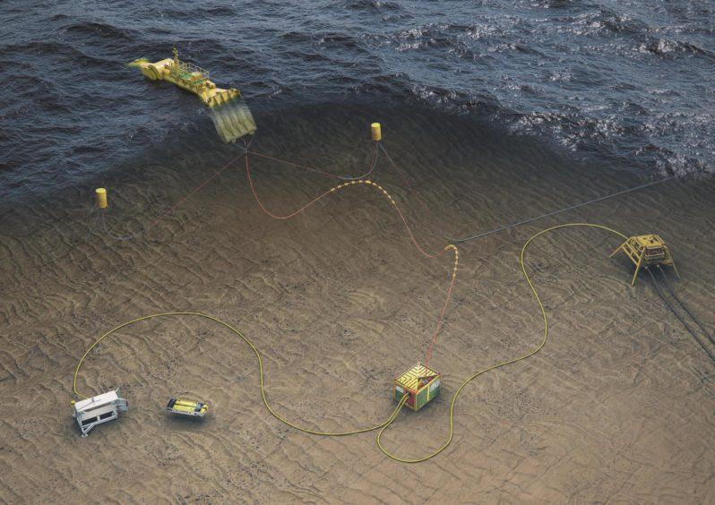 Mocean Energy EC-OG wave power for subsea equipment.