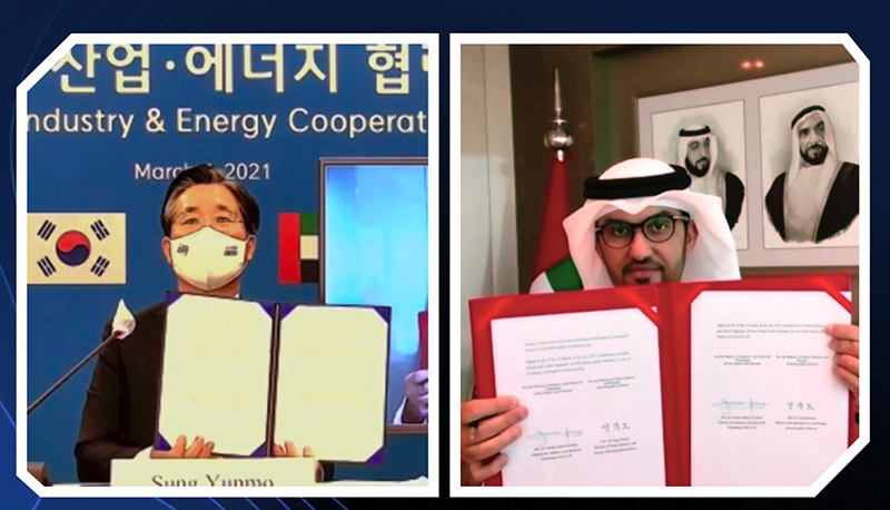 Adnoc and South Korea have held talks on blue hydrogen and fuel carriers, amid growing interest from the Asian market.