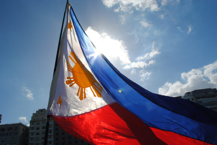 Flying the Philippines flag: the Southeast Asian nation hopes to import LNG
