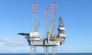 Borr Drilling's Prospector 1 rig.