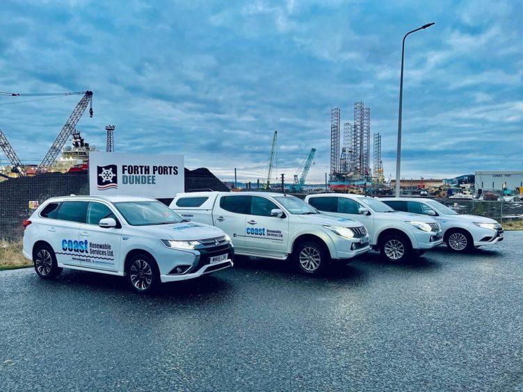 Coast Renewables. Port of Dundee.