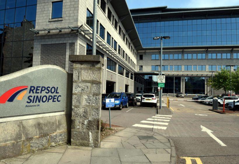 Repsol Sinopec Resources UK's HQ in Aberdeen