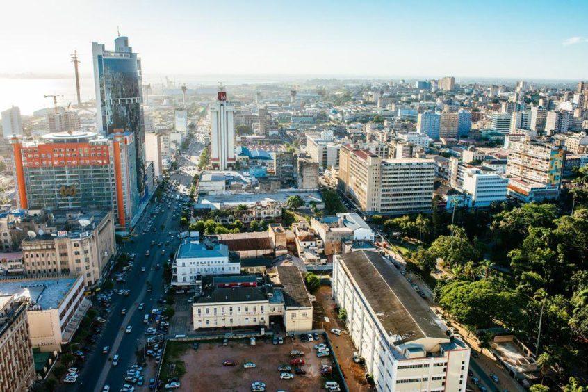 City scene of Maputo