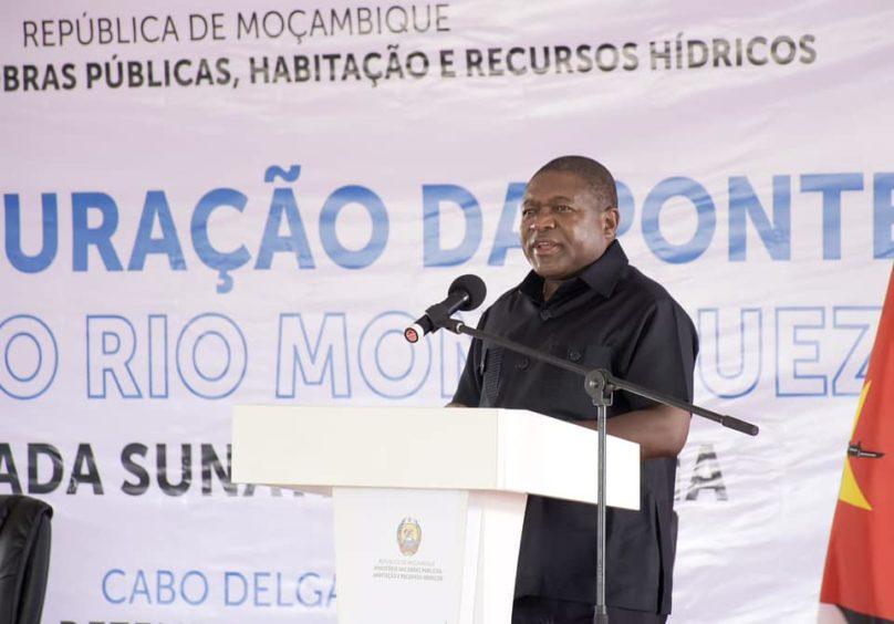 Mozambique President Filipe Nyusi