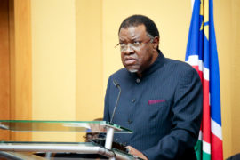 Namibian president hails ReconAfrica find