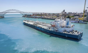 Tanker loaded with naphtha leaves Texas