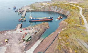 Kishorn Port has been given approval to extend its dry dock, creating 40 jobs and injecting billions into the economy