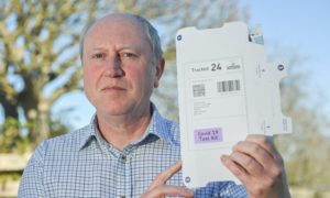 Machine Diagnostics Ltd company director Graham Price. Pictures by JASON HEDGES
