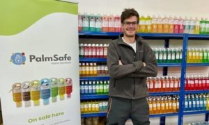 Marko Steiger set up Palm Safe after being made redundant due to the oil price crash