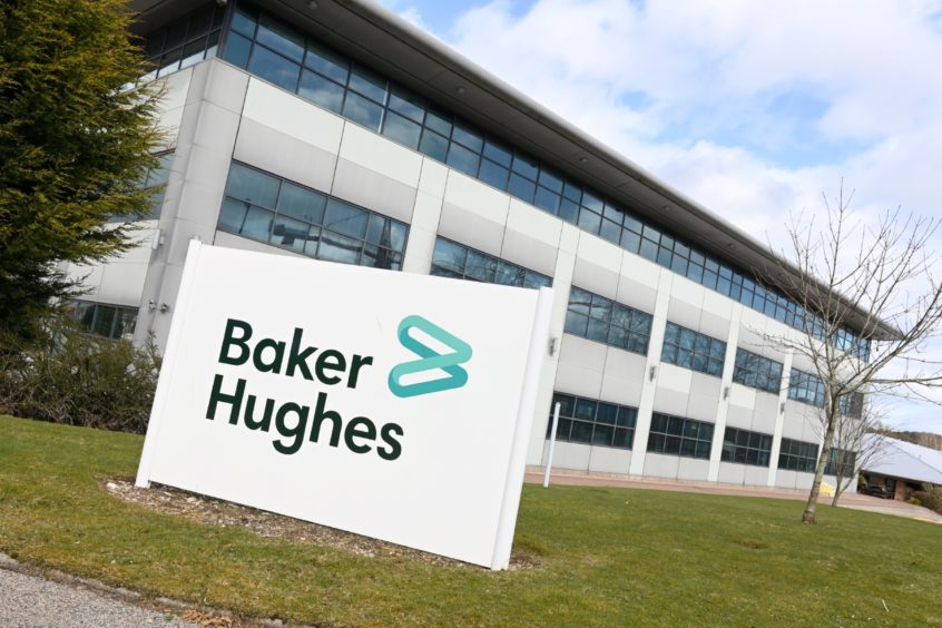 Baker Hughes' North of Scotland HQ in Stoneywood Park North, Dyce