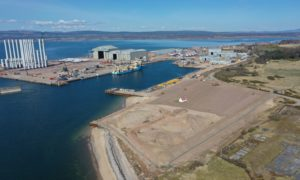 Global Energy Group is expanding its Port of Nigg facilities.