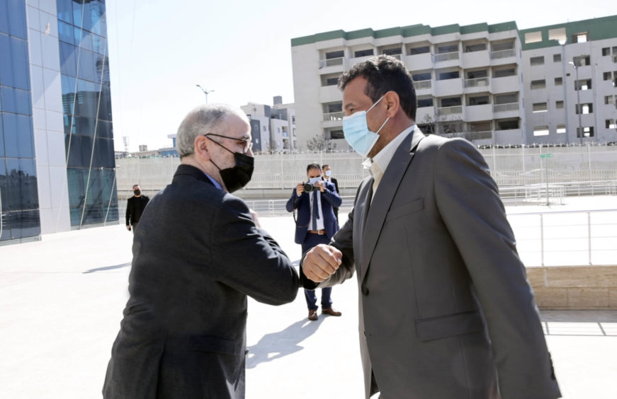 NOC chairman Mustafa Sanalla has held talks with politicians in Libya over supporting the company's budget needs.