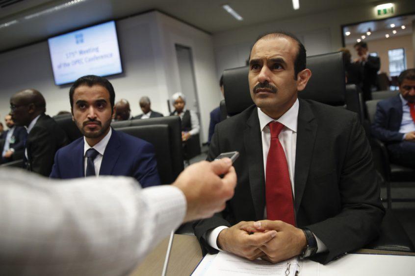 Saad Sherida Al Kaabi, Qatar's energy minister, and CEO of Qatar Petroleum. Photographer: Stefan Wermuth/Bloomberg