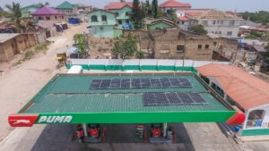 Puma Energy kits out Ghana sites with solar