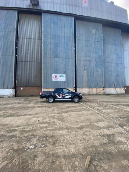 The Orca facility at Burntisland