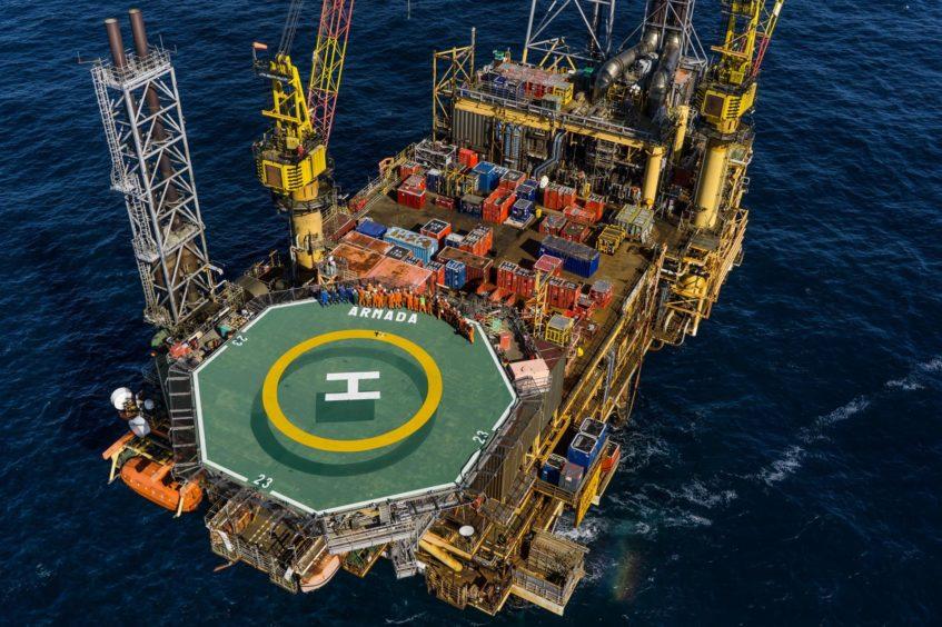 Harbour Energy's Armada Platform in the UK North Sea.