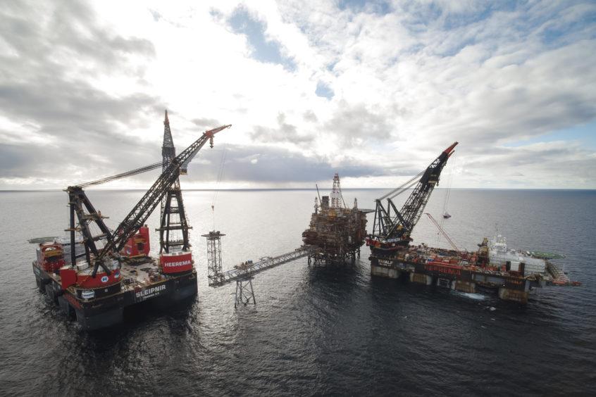 Taqa decommissioning