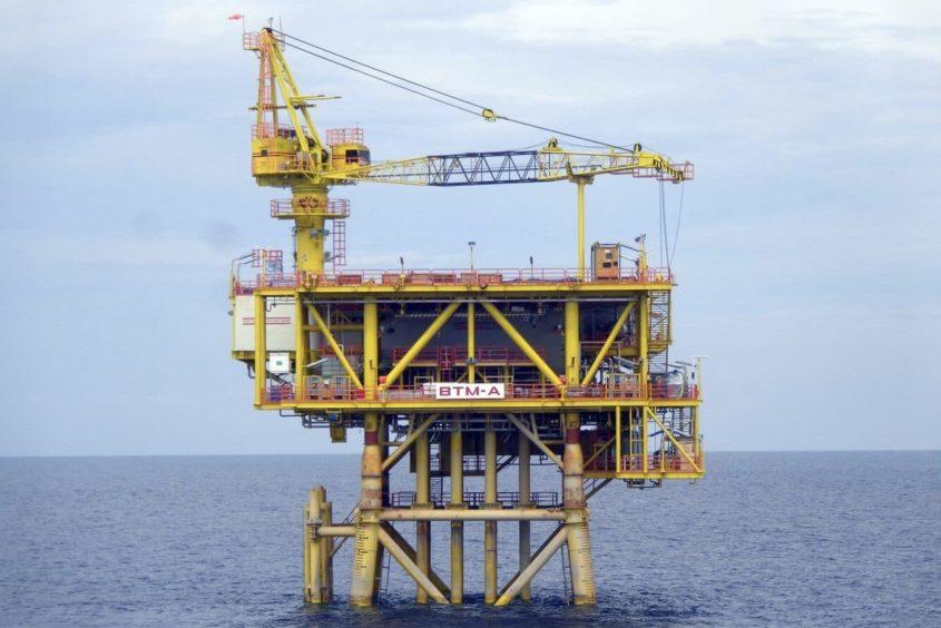IPC's Bertram A platform offshore Peninsular Malaysia