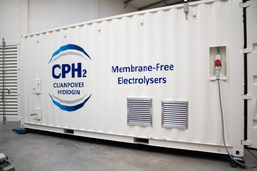 CPH2 electrolyser UK