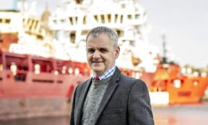 Keith Young AHEP Project Director at Aberdeen Harbour Board.