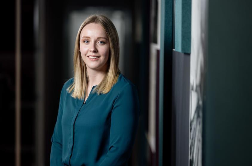 Lindsay Wylie has won the rising star award at the Decom Awards