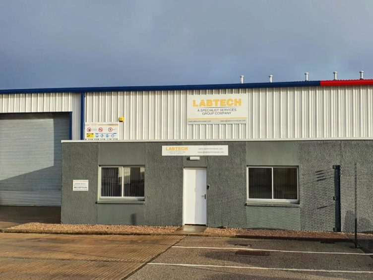 Labtech's new base in Dyce.